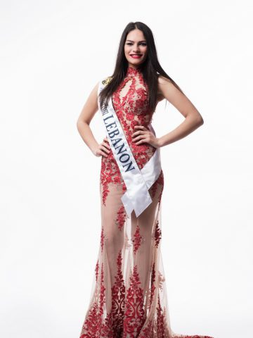 Lebanon - Evening gown (sash)